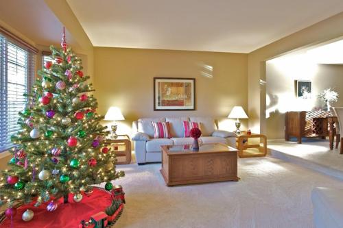 Julie Hutton Christmas Tree LIVING ROOM